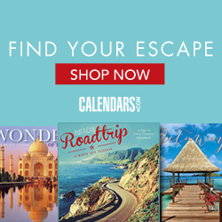 Shop Travel and Scenic Calendars!