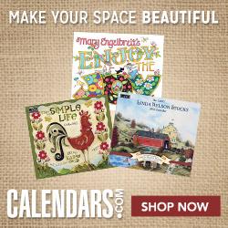 Shop Calendars.com Folk Art Now!
