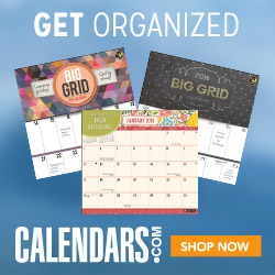 Shop the Organization Category at Calendars.com!