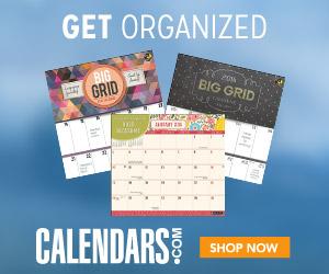 Shop the Organization Category at Calendars.com!