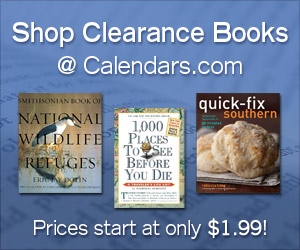 Shop Clearance Books at Calendars.com!