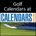 Golf Calendars On Sale at Calendars.com