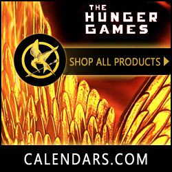 Find The Hunger Games Merchandise at Calendars.com!