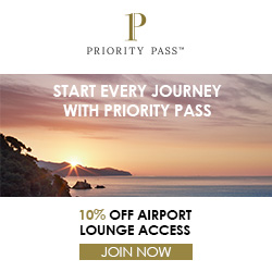 10% off airport lounge access