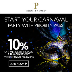 Carnival with Priority Pass