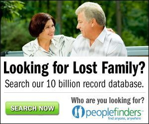 Find family at PeopleFinders