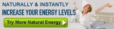 Increase Energy Naturally