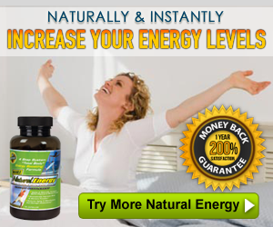 Increase Energy Naturally