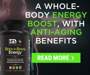 Body and Mind Energy Supplement