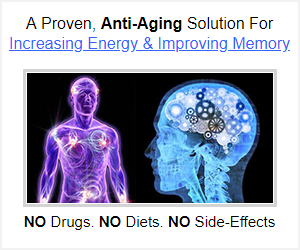 Anti-aging solution to improve memory and increase energy