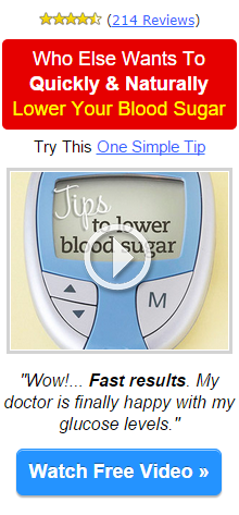 Lower your Glucose Levels- Amazing Video !