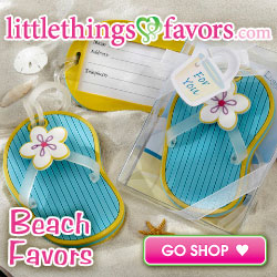 wedding party Beach Favors