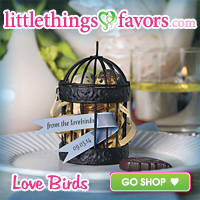 Love Bird Wedding Favors
