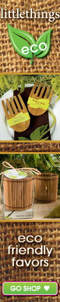 Eco-friendly Green Wedding Favors