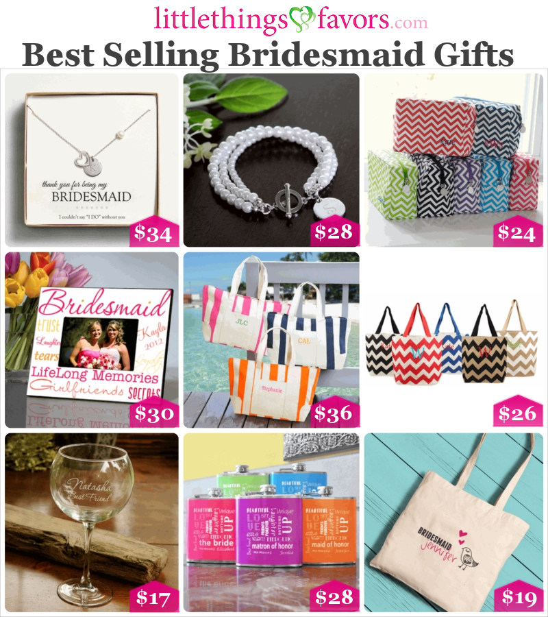 A Wonderful Collection Of Gift Ideas For Your Bridesmaids And Groomsmen