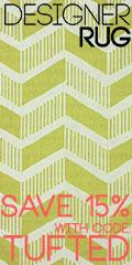 shop designer rugs now - save 15%