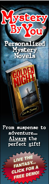 Personalized Mystery Novels from Mystery By You