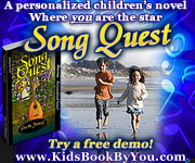 Personalized Children's Novel - Song Quest