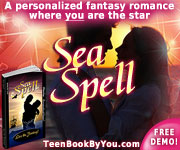Personalized Teen Fantasy Romance Novel