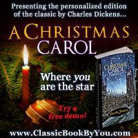 Personalized A Christmas Carol from Classic Book By You