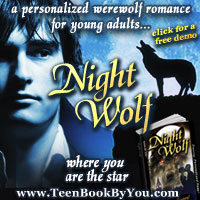 Personalized Werewolf Romance for Teens - Night Wolf