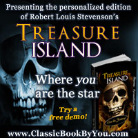 Personalized Treasure Island from Classic Book By You