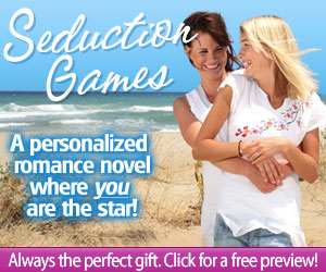 Personalized same-sex romance novel for women by Romance By You