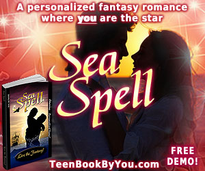 Peronalized Teen Fantasy Romance Novel