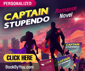 Captain Stupendo - Personalized Superhero Romance Novel