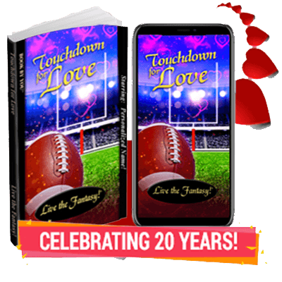 Touchdown for Love - Personalized Romance Novel
