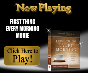 First Thing Every Morning inspirational video from simpletruths.com