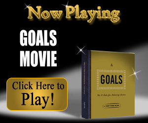 Goals Movie, Reflections Resolutions and Goal Setting