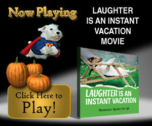 Laughter is an Instant Vacation Movie, Reflections Resolutions and Goal Setting