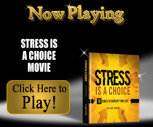 Stress Is a Choice inspirational video from simpletruths.com
