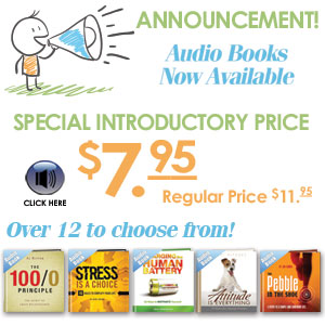 Audiobooks are now available for your favorite inpirational books.