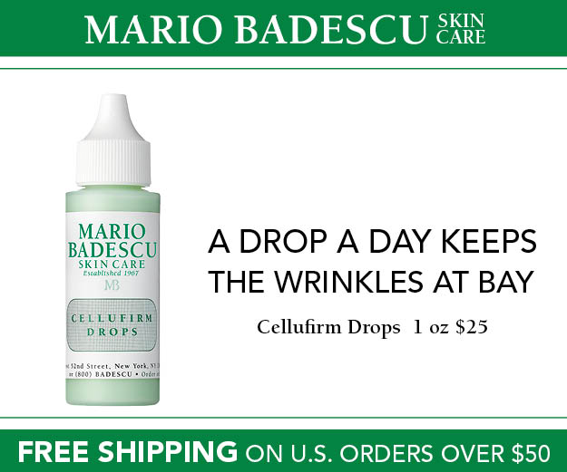Mario Badescu Skin Care Cellufirm Drops
