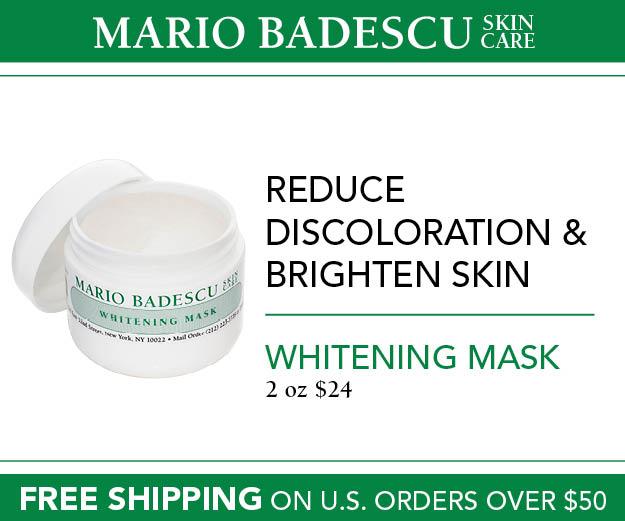Mario Badescu Skin Care Whitening Mask