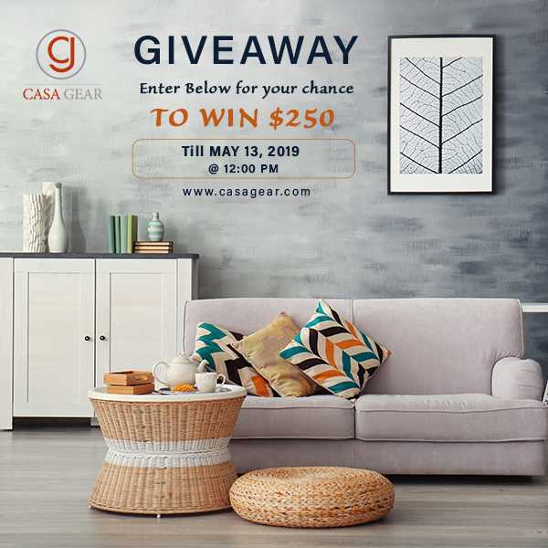 #sweepstakes,Making the case for  luxurious Casagear & $250 home giveaway extravaganza!