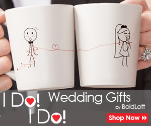 BoldLoft's I Do! I Do! Wedding Gifts