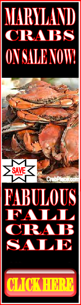 Maryland Blue Crabs On Sale Now. Save Up To 55.00 Per Bushel For A Limited Time...