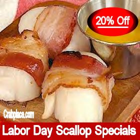 Labor Day Scallop Specials
