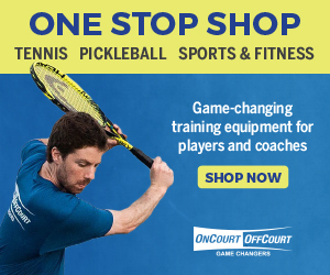OncourtOffcourt.com- The Tennis Industry Leader in Creative Training Tools, Training Aids, and Practice Equipment! Including Tennis Backboards, Ball Machines, Tennis Balls, Baskets, Tennis Videos and DVDs! Shop Now!