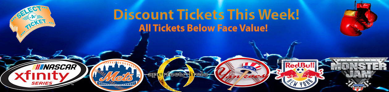 Buy Discount Event Tickets
