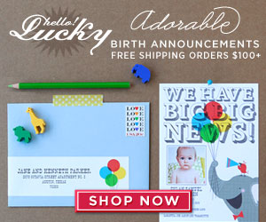 Birth Announcements by Hello!Lucky