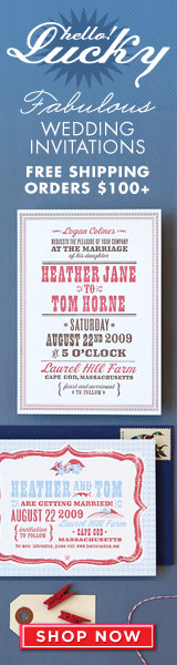 Wedding Invitations by Hello!Lucky
