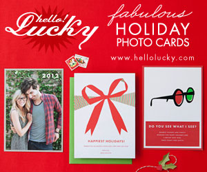 Custom Holiday Cards by Hello!Lucky