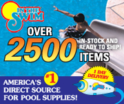 Get Your Pool Supplies With In The Swim Today!