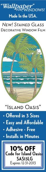 Island Oasis 10% off exp12-31-13
