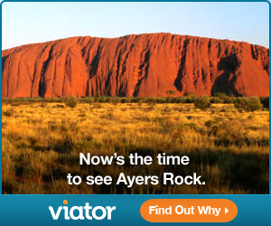 Now's the time to see Ayers Rock. Find Out Why!