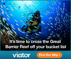 Viator is the perfect travel operator to book as one of many gifts for scuba divers